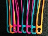 Correa del teléfono, hecha del silicón y del metal, vario color disponible