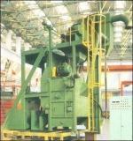 La correa de caucho la máquina de granallado Shot (Q32).