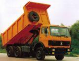 Beiben 30ton 10の荷車引き380HPのダンプカートラック