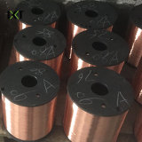 Fil en acier plaqué de cuivre pour câble coaxial Kxt CCS-CCS02