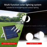 O Sistema de Iluminação de Energia Solar Portátil com 2 lâmpadas LED de luz solar para Home Camping tenda