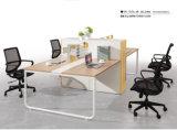 Mesa de escritório da melamina da estação de trabalho da divisória