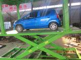 Voiture de ciseaux pour garer la voiture de l'élévateur