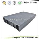 양극 처리를 가진 다기능 건축재료 알루미늄 밀어남 열 싱크