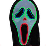 Het geluid Geactiveerde Licht van de Draad van Gr op Masker