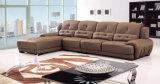 Brown-ledernes Sofa (T326)