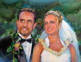 결혼 사진 회화