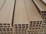 Decking de WPC/assoalho plásticos de madeira (HO03145)