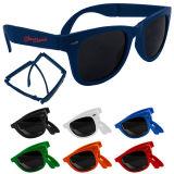 Vidrios de encargo especiales al por mayor baratos Sun de Plasitc de las gafas de sol del diseño de la insignia