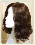 A onda do corpo 100% de cabelo humano peruca