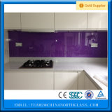 preço de vidro decorativo de vidro/envernizado traseiro de 4-12mm pintado do painel