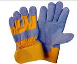 Коровы Split кожаные рабочие перчатки (LP-001)