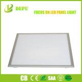 Natürliche Deckenverkleidung 48W des Weiß-4800lm 600X600 LED verschob vertiefte LED-Instrumententafel-Leuchte