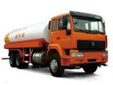 Camión de transporte de agua con pistola HOWO camiones tanque de agua