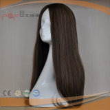elegant Long Custom Color High Quality Virgin Remy Hair Lace Front Wig Company