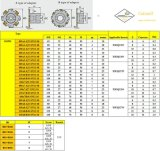 Inserção SMP01-063X4-A22-Sn12-06 de Cutoutil para Hardmetal de aço que combina o cortador de trituração padrão das ferramentas