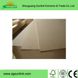 Materiales de Construcción Plain MDF Board 1220mmx2440mmx12mm E2 Poplar