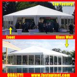 Директивные органы Fastup транспарентного стороны Палатка для автомобильной выставке диаметром 6 м 30 человек местный гость