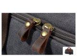 Gewaschener Segeltuch-im Freienhandtaschen-Leder-Ordnungs-Sport-Arbeitsweg-Beutel (RS- 9153)