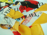 Silk Printing Scarf - 1