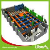 Het grote Binnen Exorbitante Hof van het Basketbal van de Trampoline