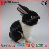 연약한 현실적 박제 동물 토끼 견면 벨벳 토끼 장난감