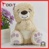 De Teddyberen van de Pluche van de Teddybeer van Suffed met borduurwerkPoot