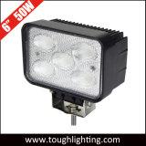 6X4 pulgadas cuadradas de 50W LED CREE haz de inundación de las luces de coche