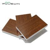 プラスチック泡のボードの室内装飾のための木製の表面PVCシート