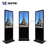 Écran LCD infrarouge Ad Player 55-inch-de-chaussée de la publicité permanent Player