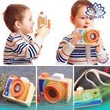 Rainbow Bebê Kids Travando Bonitinha Câmara de brinquedos de madeira