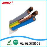 (BVV) cavo di collegare rotondo di potere di Insualtion del fodero dell'isolamento del PVC del Cu 300/500V
