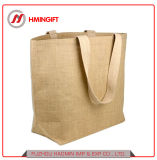 Оптовая торговля пользовательских печатных джута женская сумка на пляже, джут сувениры, джутовые сумки для рекламных