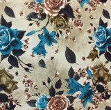 2018 neue Blumen-Muster, Vorhang, verwendet für Hauptgewebe, gesponnenes, gedrucktes Gewebe
