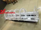 Alte parti di plastica Polished libere trasparenti di plastica di CNC dell'acrilico PMMA/ABS/PP/Peek
