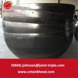 testa emisferica del acciaio al carbonio 07-21-Large per il tubo senza giunte dello zirconio