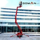 lift van de Schaar van de Lijst van de Lift van het Platform van het Werk van 10m de Gemotoriseerde Mobiele Elektrische