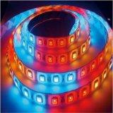 Striscia della striscia 60LEDs/Waterproofip65 RGB 5050 LED dell'indicatore luminoso del LED per esterno