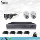 De Uitrustingen van de Systemen van het Alarm DVR van het Toezicht van de Veiligheid van kabeltelevisie 4chs 2.0MP