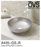 Moderner populärer Entwurfs-blaue Farben-Wäsche-Bassin-Badezimmer-Eitelkeit
