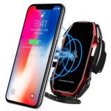 Telefoonhouder voor in de auto, automatische klemming IR intelligente draadloze autolader - autolader houder 10W 15W Snel opladen voor iPhone XS Max/xr Samsung
