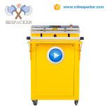 Bespacker VS-600E de Pescado de enjuague de nitrógeno de la máquina de sellado selladora embalaje vacío