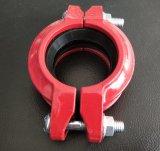 Accoppiamento flessibile Grooved del ferro duttile approvato di FM/UL/Ce per il sistema di lotta antincendio