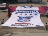 큰 거대한 t-셔츠 깃발, 메가 축구 깃발, 광고 깃발