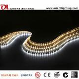 Os LEDs Epistar UL 2835 60Max14.4W Non-Waterproof tira de LED