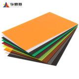 Commerce de gros coloré personnaliser la taille des matériaux de construction en Perspex de feuilles en acrylique moulé
