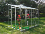 Incline a estufa de vidro de apoio logístico608 6 metros por 8 metros