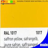 Ral 1017 Deklaag van het Poeder van de Kleur van de Saffraan de Gele voor Binnenlandse Machine