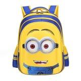 Fashion Pouco Amarelo Homem 3D de estilo cartoon crianças mochilas