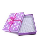 Custom подарочные коробки бумаги производства с лентой лук